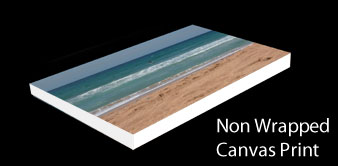 Non Wrapped Canvas Prints