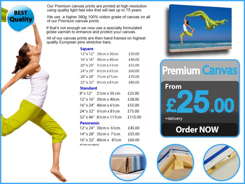 Premium Quality canvas prints